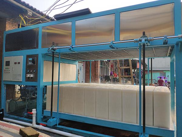 8吨直冷式块冰机